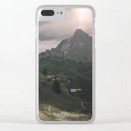 Schynige Platte Clear iPhone Case