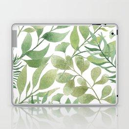 Green Tropical Leaves Laptop & iPad Skin