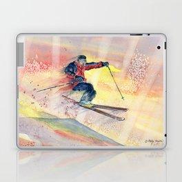 Colorful Skiing Art Laptop & iPad Skin