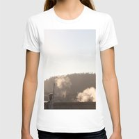 prague T-shirts featuring Prague bridge by RMK Photography