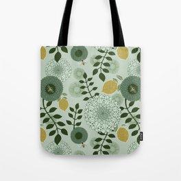 Lemon Garden Tote Bag