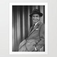 frank sinatra Art Prints featuring Frank Sinatra by Richard Andrew
