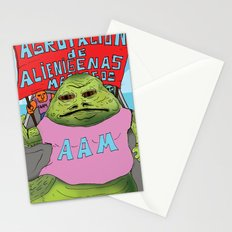 Jabba the moyan Stationery Cards