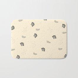 Virgo Pattern - Beige Bath Mat