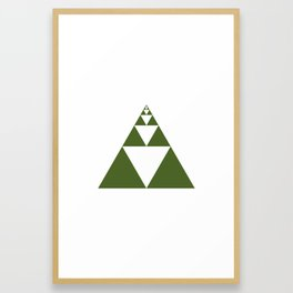 #128 Ad astra – Geometry Daily Framed Art Print