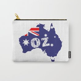 Outline Map OZ Carry-All Pouch
