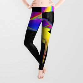 anomaly in sector KRC2496 Leggings