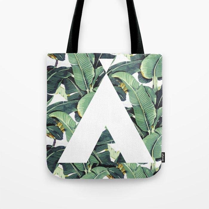 Banana Leaf Love Tote Bag