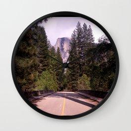 Ahwahnee Bridge, Yosemite Village Wall Clock