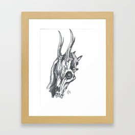 Chupacabras Framed Art Print