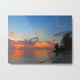 A Thailand sunset Metal Print