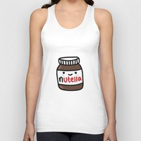 nutella Tank Tops featuring Nutella by Iotara
