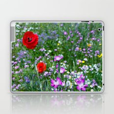 Wild Flower Meadow Laptop & iPad Skin