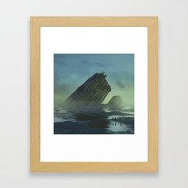 SYSTEMIC ABERRATION (everyday 10.25.15) Framed Art Print