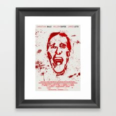 American Psycho #2 Framed Art Print