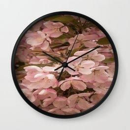 Dreamy Blossoms Wall Clock