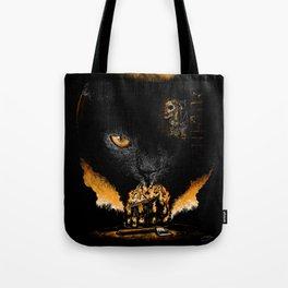 """""""The Black Cat"""" - Edgar Allan Poe Series Tote Bag"""