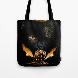 """The Black Cat"" - Edgar Allan Poe Series Tote Bag"