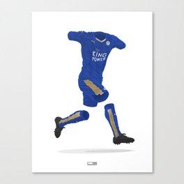 Leicester City 2015-16 - Premier League Champions Canvas Print