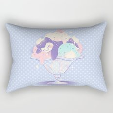 Sweet Tooth Sundae Rectangular Pillow