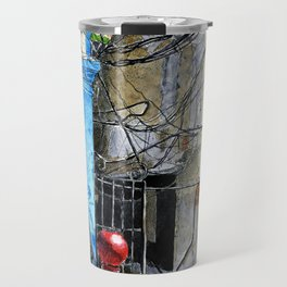 Wire and More Wires Travel Mug