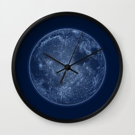 Dark Side of the Moon - Painting Wall Clock