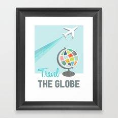 Travel the Globe Framed Art Print