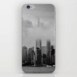 Floating City - Manhattan New York City 2019 f iPhone Skin
