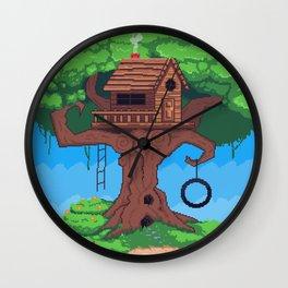 The Treehouse Wall Clock