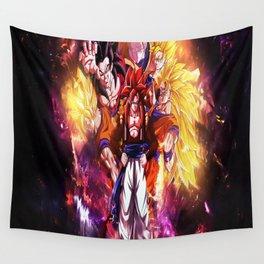 super saiyan goku Wall Tapestry