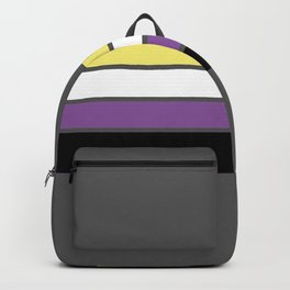 Enby Flag Backpack