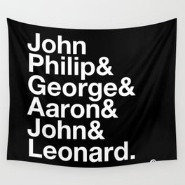 American Composers Wall Tapestry