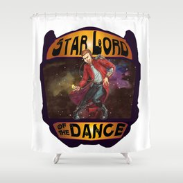 (Star) Lord of the Dance Shower Curtain