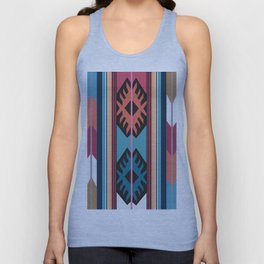 American Native Pattern No. 55 Unisex Tank Top