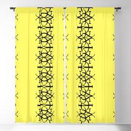 Calligraphy E Design Blackout Curtain