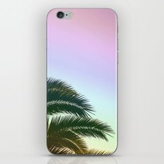 Palm Leaves  - Tropical Sky - Chilling Time iPhone & iPod Skin