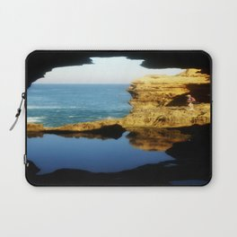 """Inside """"The Grotto"""" Looking Out! Laptop Sleeve"""