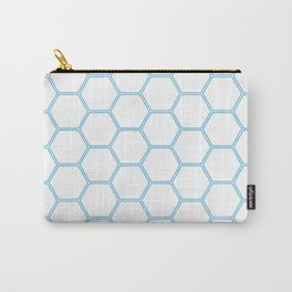 Honeycomb Blue #370 Carry-All Pouch