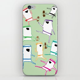 Karate iPhone Skin