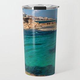 Mediterranean Seascape in Spain Travel Mug