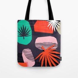 Dank - memphis style 80's throwback neon shape palm house plant retro vintage decor hipster art Tote Bag