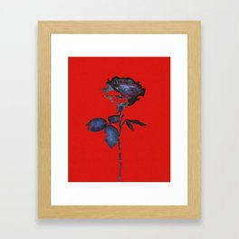 Enhancing the Ordinary (In red) Framed Art Print