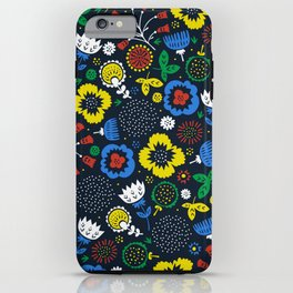 Blooming Wild iPhone Case