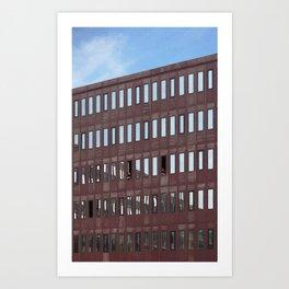 Amsterdam Conversation Art Print