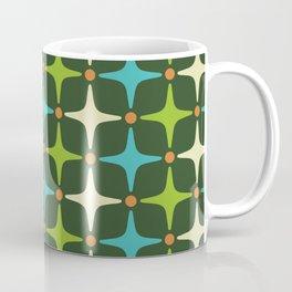 Mid Century Modern Star Pattern 581 Coffee Mug