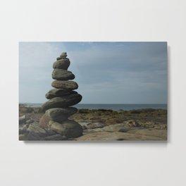 Ocean Zen Metal Print