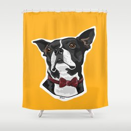 Mayor of the Mill Shower Curtain