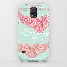FINALLY! Whales are free from persecution! Slim Case Galaxy S5