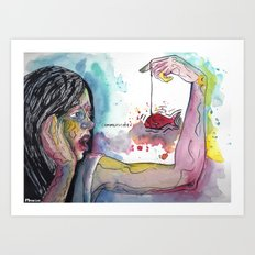 Communicate Art Print