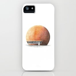 Montreal's Orange Julep iPhone Case